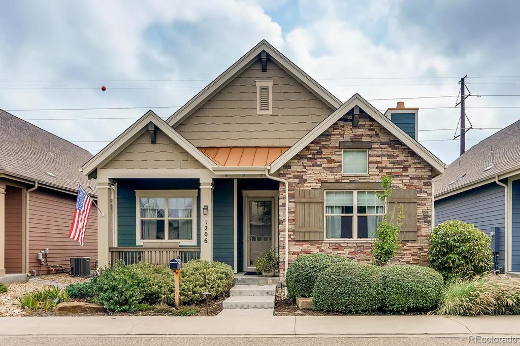Photo of home for sale at 1206 Rodeo Court, Longmont CO
