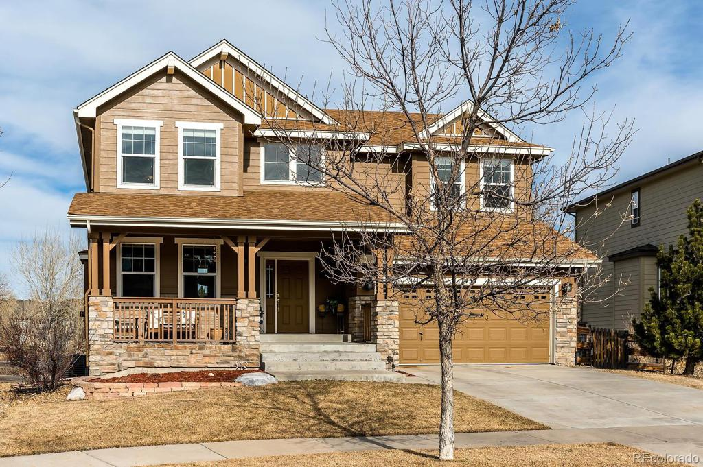 Photo of home for sale at 7459 Biloxi Court S, Aurora CO