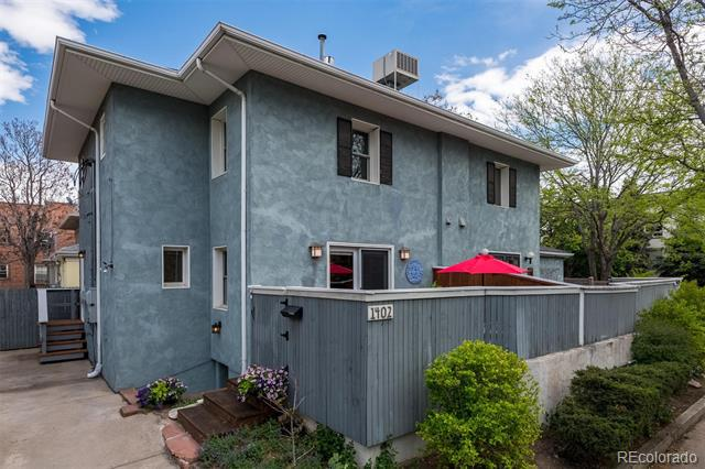 Photo of home for sale at 1402 Downing Street North, Denver CO