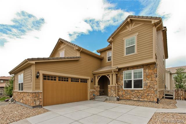 Photo of home for sale at 15927 Antora Peak Drive, Broomfield CO
