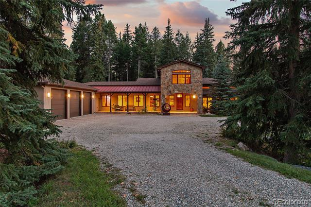 Photo of home for sale at 8701 Grizzly Way, Evergreen CO