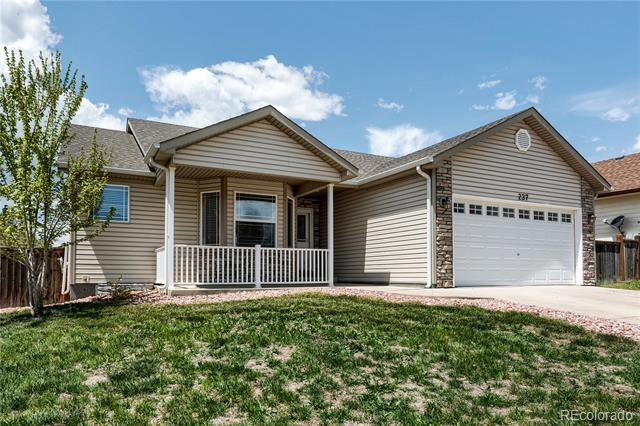 Photo of home for sale at 237 Aspen Grove Way, Severance CO
