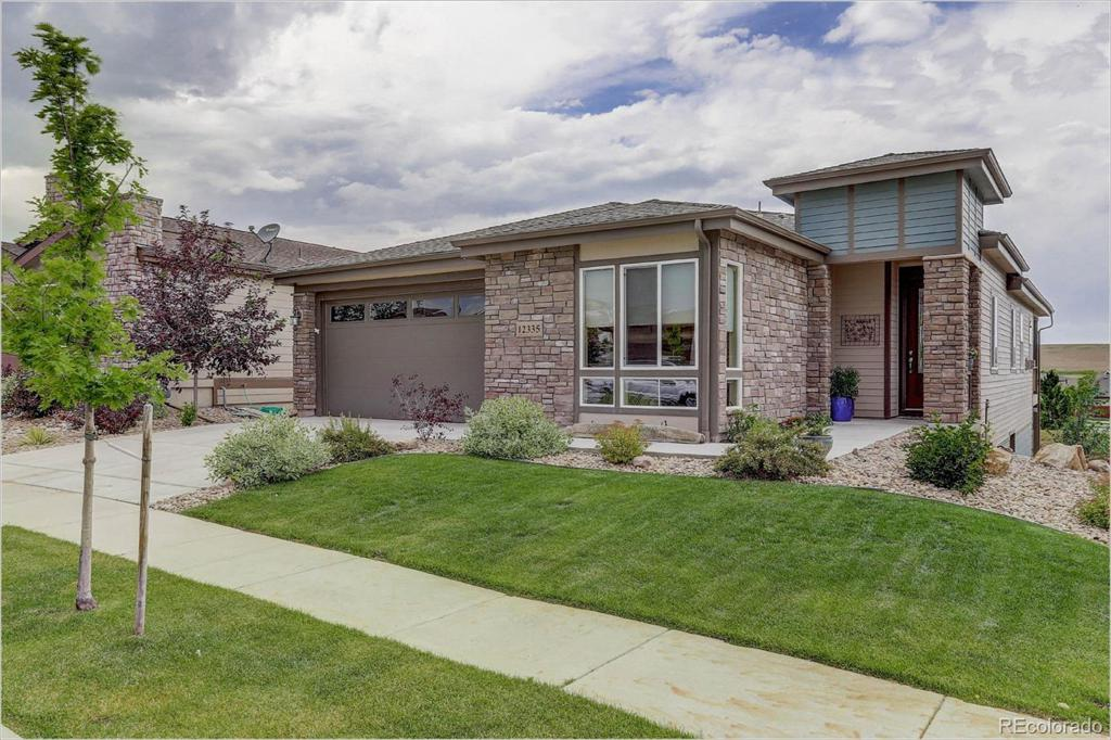 Photo of home for sale at 12335 Sandstone Court, Broomfield CO