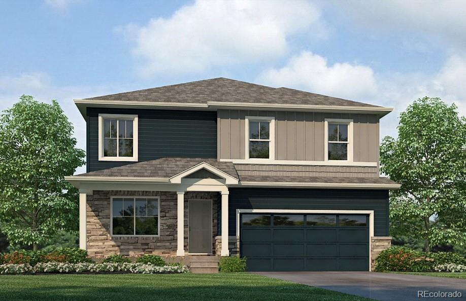 Photo of home for sale at 2200 Fiadore Trail, Castle Rock CO