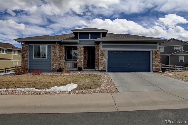 Photo of home for sale at 2958 Russet Sky Trail, Castle Rock CO