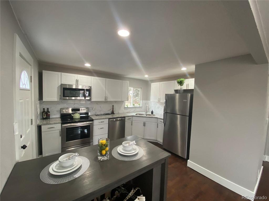 Photo of home for sale at 1001 Hooker Street N, Denver CO