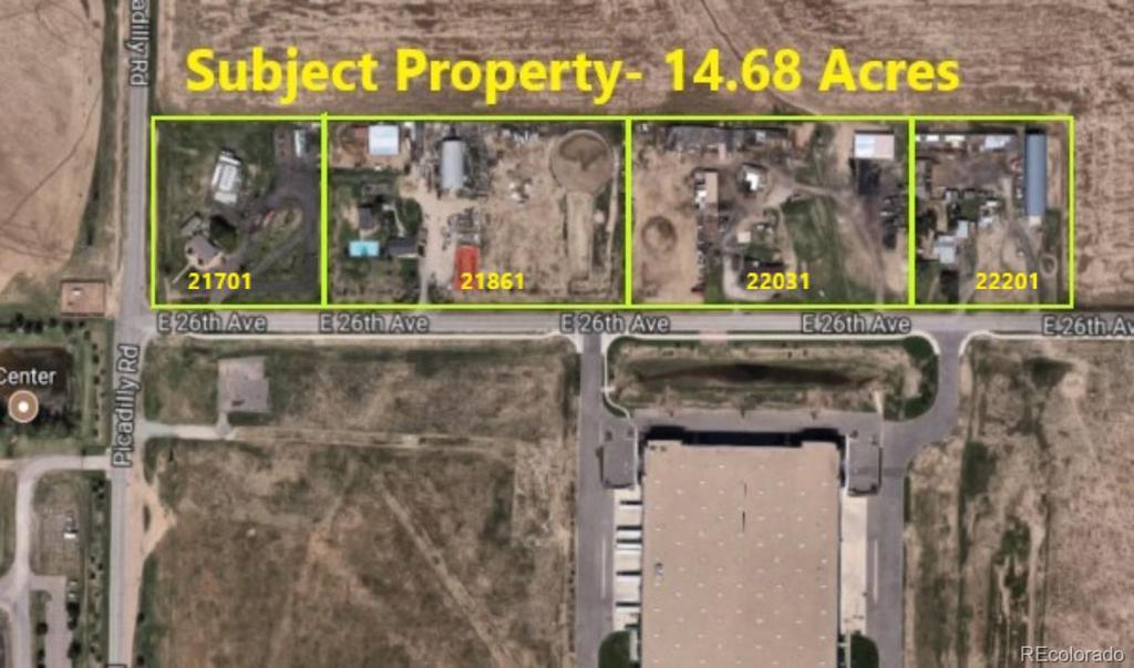 Photo of home for sale at 21701 26th Avenue E, Aurora CO