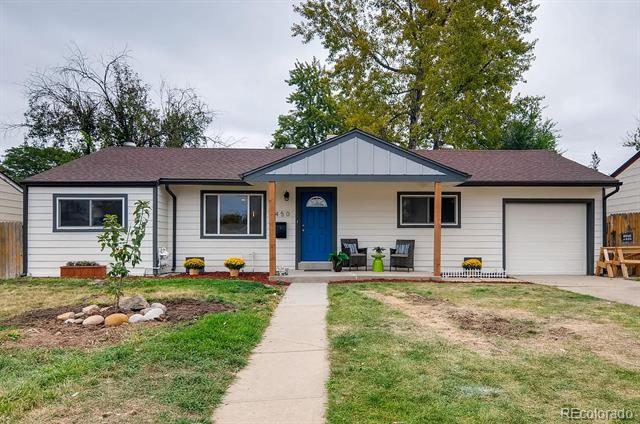 Photo of home for sale at 3450 Glencoe Street South, Denver CO
