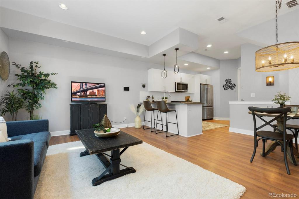 Photo of home for sale at 1638 Lowell Boulevard, Denver CO