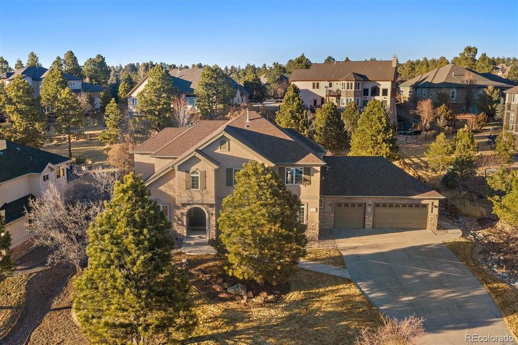Photo of home for sale at 9035 Scenic Pine Drive, Parker CO
