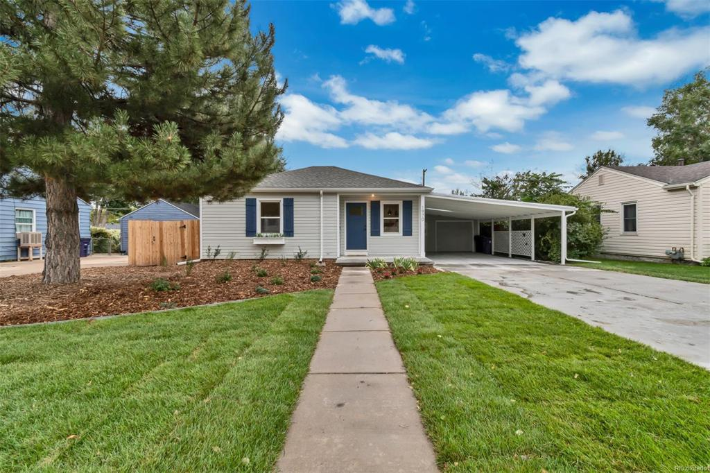 Photo of home for sale at 1970 Julian Circle S, Denver CO