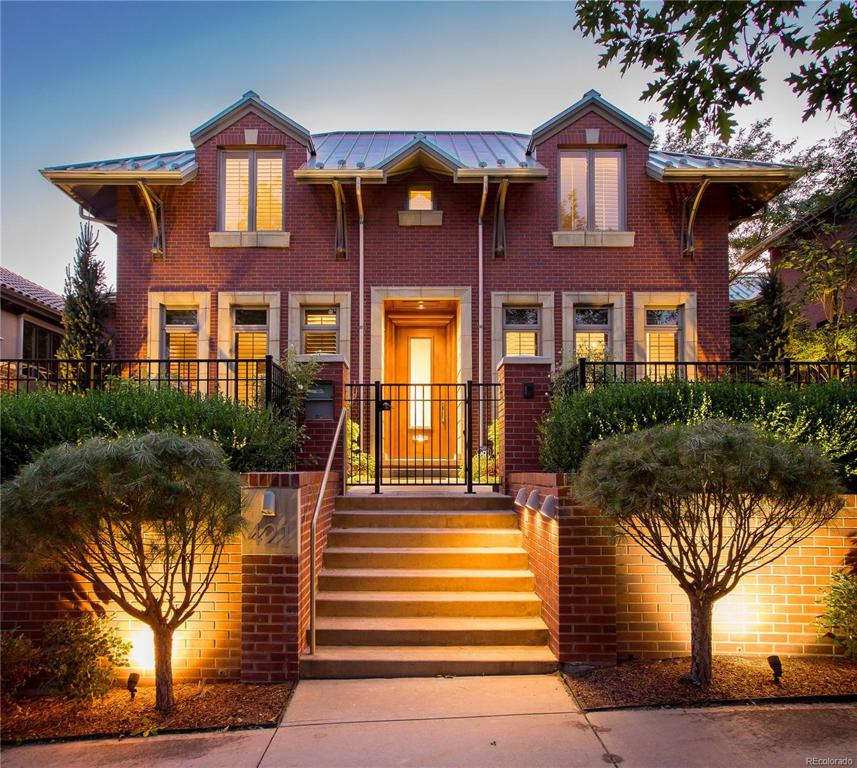 Photo of home for sale at 421 Cook Street, Denver CO