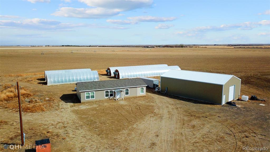 Photo of home for sale at 5561 County Road I, Wiggins CO