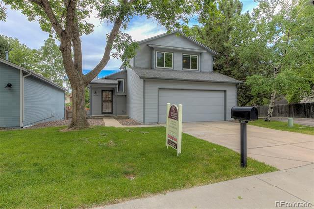 Photo of home for sale at 12790 67th Way W, Arvada CO