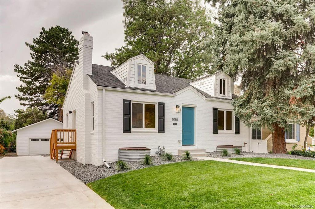 Photo of home for sale at 1051 Newport Street, Denver CO