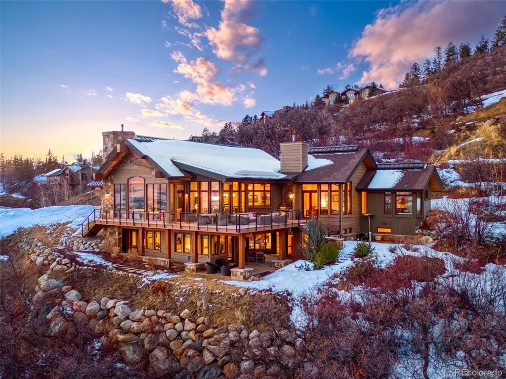 Photo of home for sale at 2539 Mountain View Lane, Steamboat Springs CO