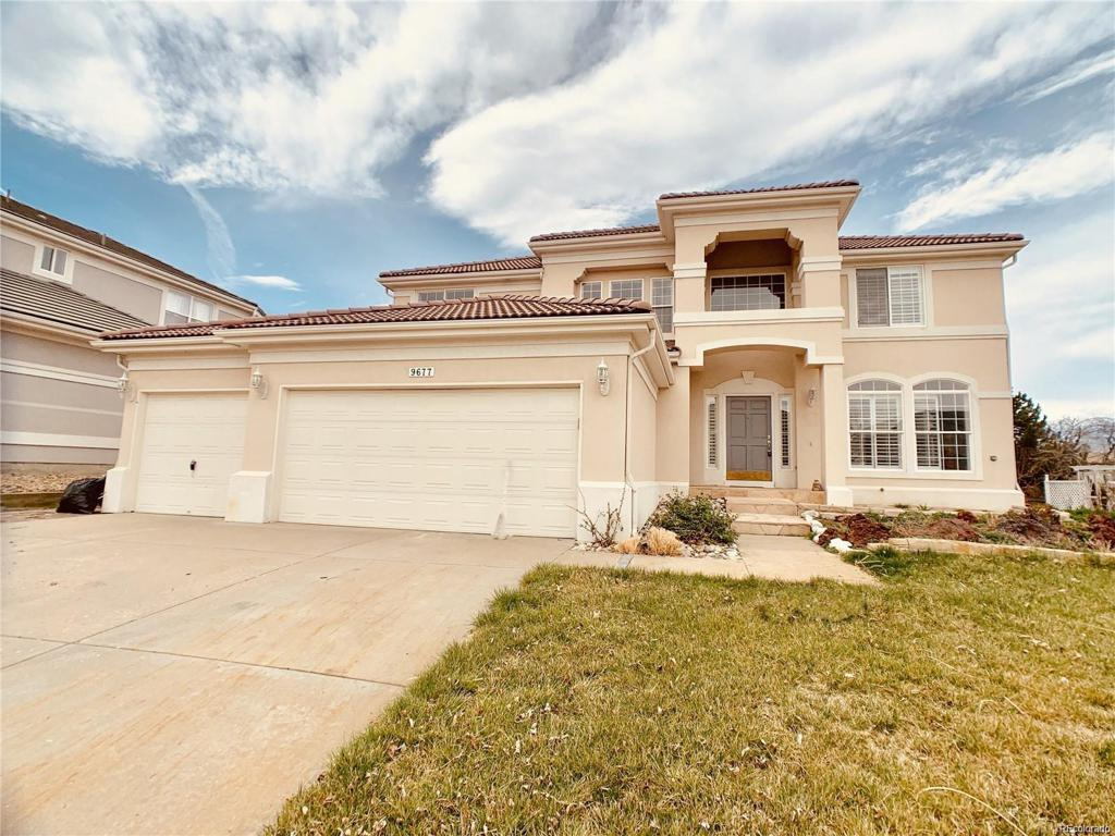 Photo of home for sale at 9677 Colinade Drive, Lone Tree CO