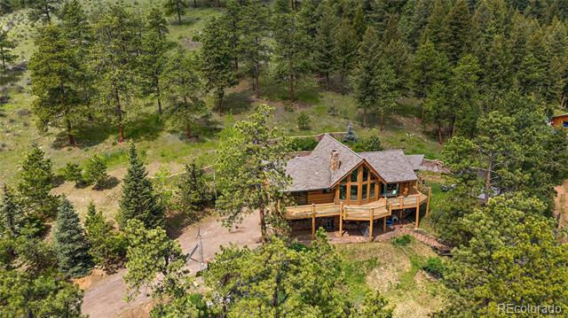 Photo of home for sale at 3901 Myers Gulch Road, Kittredge CO