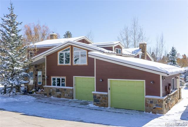 Photo of home for sale at 885 Yahmonite Street, Steamboat Springs CO