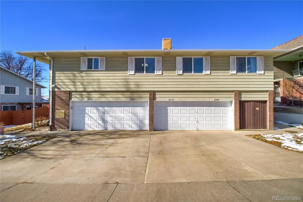 Photo of home for sale at 9769 Croke Drive, Thornton CO