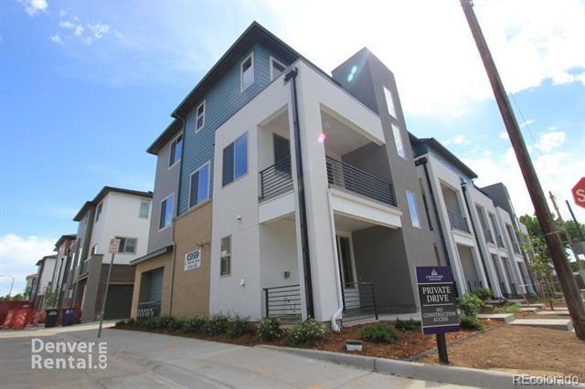 Photo of home for sale at 4120 Warren Avenue E, Denver CO