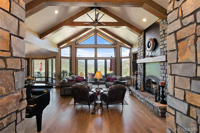 Photo of home for sale at 3711 Overlook Trail, Evergreen CO