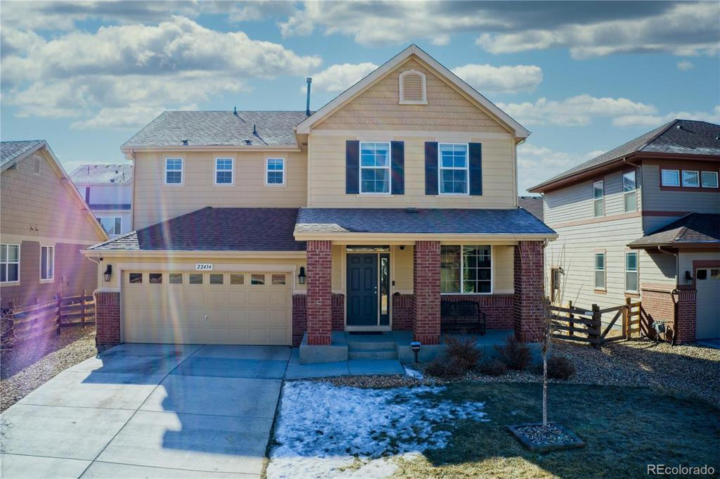 Photo of home for sale at 22434 Union Place E, Aurora CO