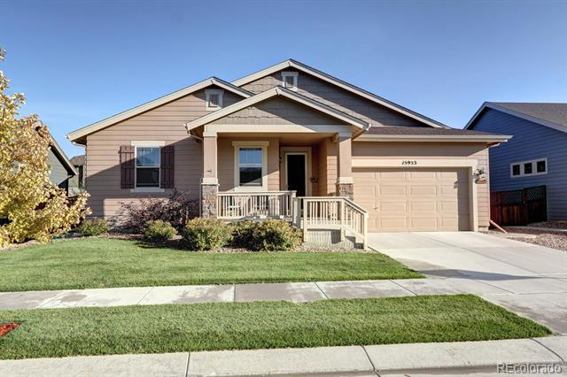Photo of home for sale at 15953 124th Avenue E, Commerce City CO