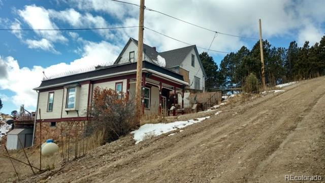 Photo of home for sale at 714 Victor Avenue W, Victor CO
