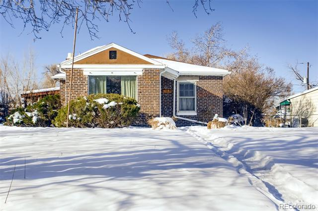 Photo of home for sale at 3115 Milwaukee Street North, Denver CO