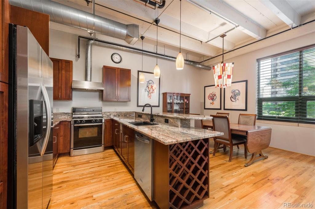 Photo of home for sale at 1800 Lawrence Street, Denver CO