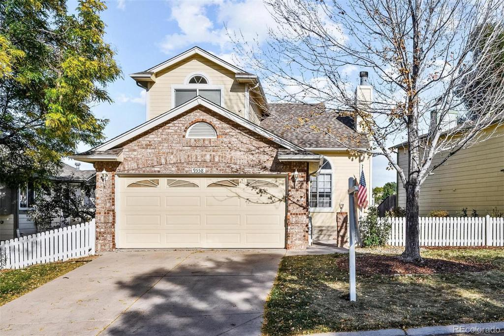 Photo of home for sale at 9558 Pendleton Drive, Highlands Ranch CO