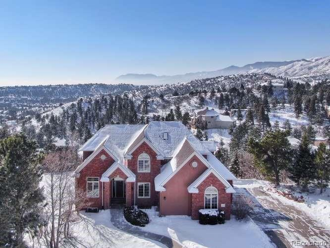 Photo of home for sale at 8350 Russett Court, Colorado Springs CO