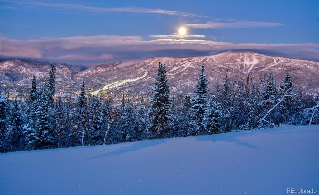 Photo of home for sale at 30320 Blue Grouse Lane, Steamboat Springs CO