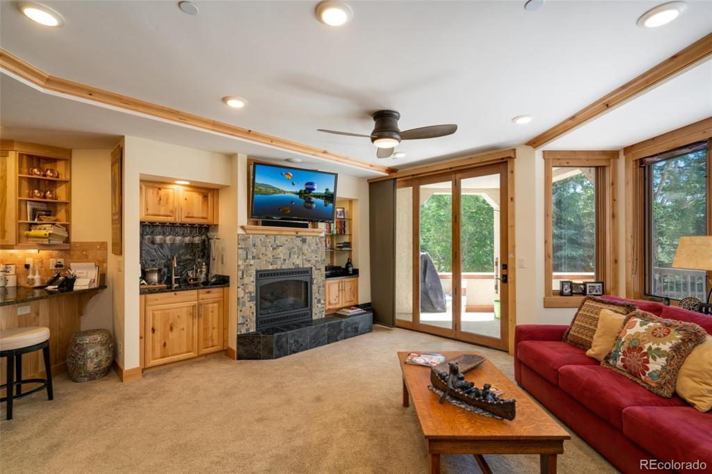 Photo of home for sale at 2800 Eagleridge Drive, Steamboat Springs CO