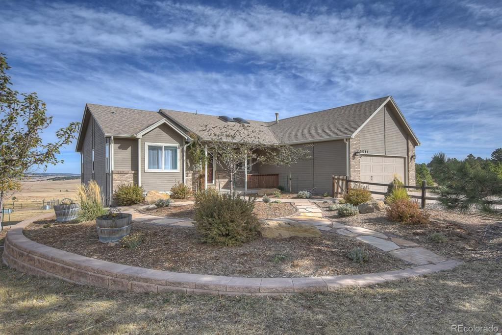 Photo of home for sale at 20780 Warriors Path Drive, Peyton CO