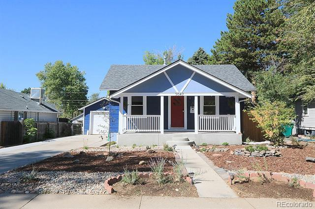 Photo of home for sale at 3047 Washington Street South, Englewood CO