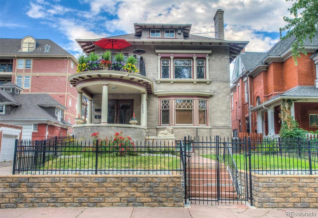 Photo of home for sale at 1650 Emerson Street, Denver CO