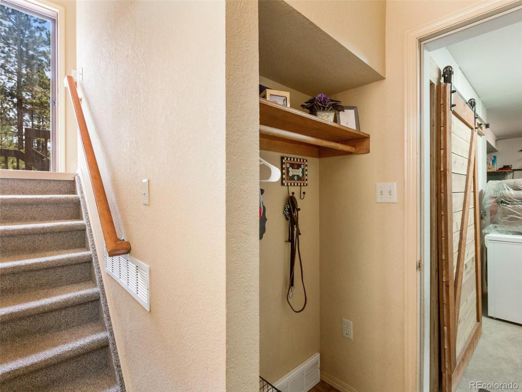 Photo of home for sale at 540 Greenway Court, Woodland Park CO