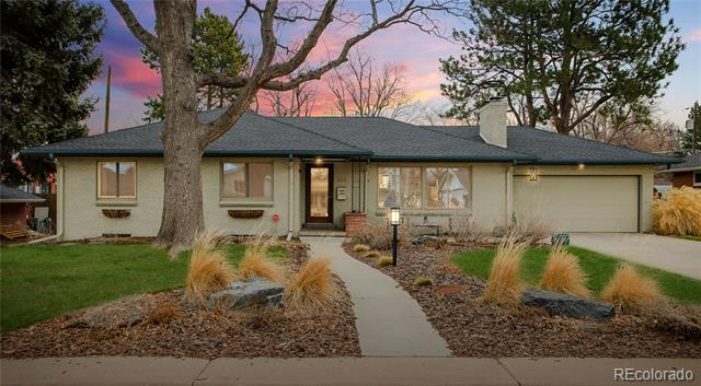 Photo of home for sale at 688 Monroe Way South, Denver CO