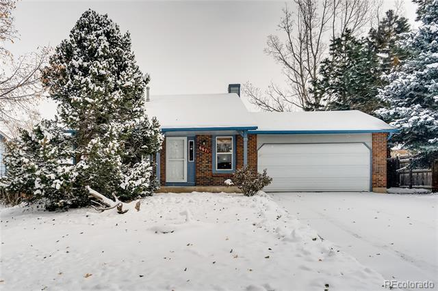 Photo of home for sale at 6671 Pony Express Drive, Colorado Springs CO