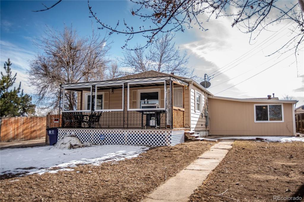 Photo of home for sale at 2734 College Avenue W, Denver CO