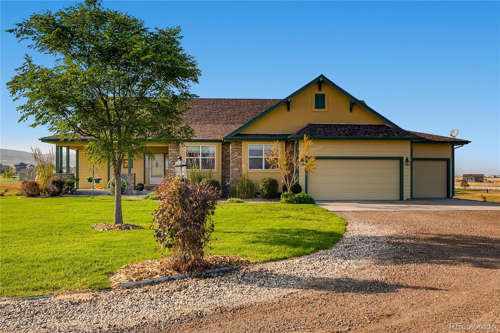 Photo of home for sale at 4234 John Galt Drive, Berthoud CO