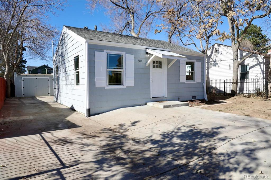 Photo of home for sale at 615 Perry Street, Denver CO