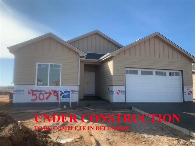 Photo of home for sale at 5079 Long Drive, Timnath CO