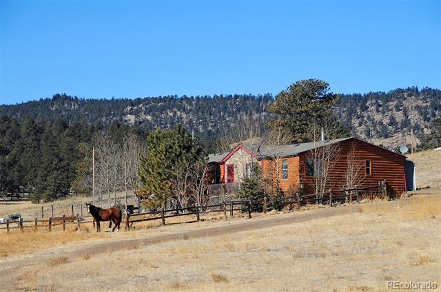 Photo of home for sale at 36 Valley Circle, Florissant CO