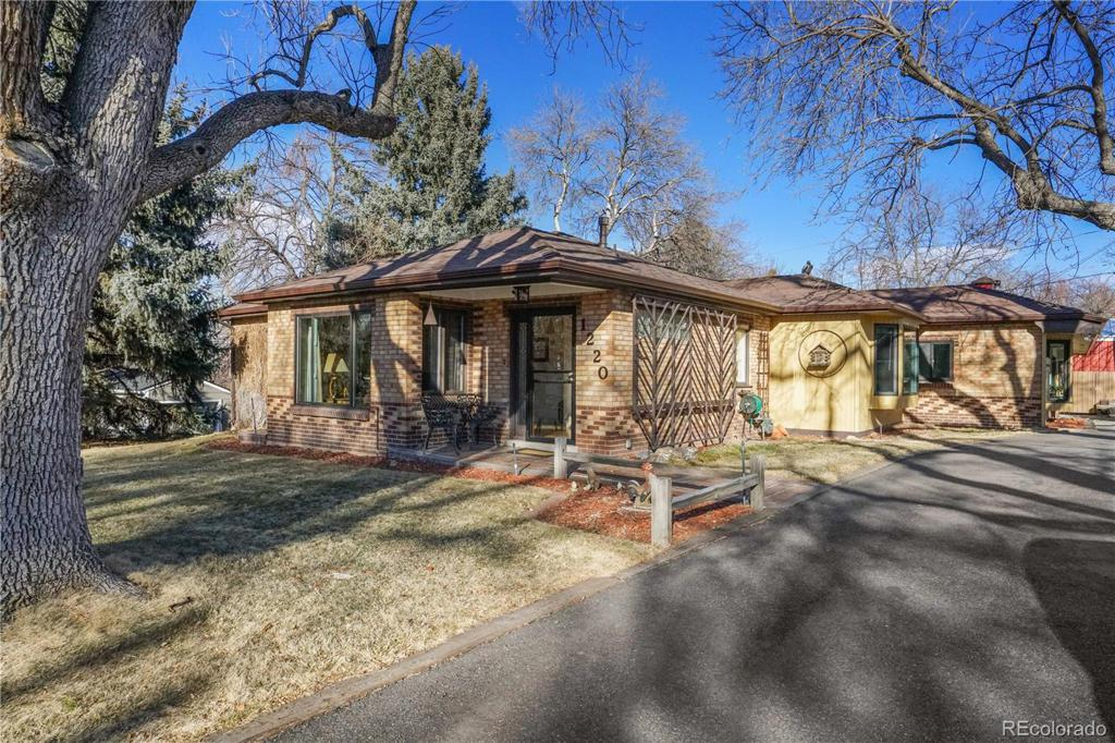 Photo of home for sale at 1220 Meadowsweet Road, Golden CO