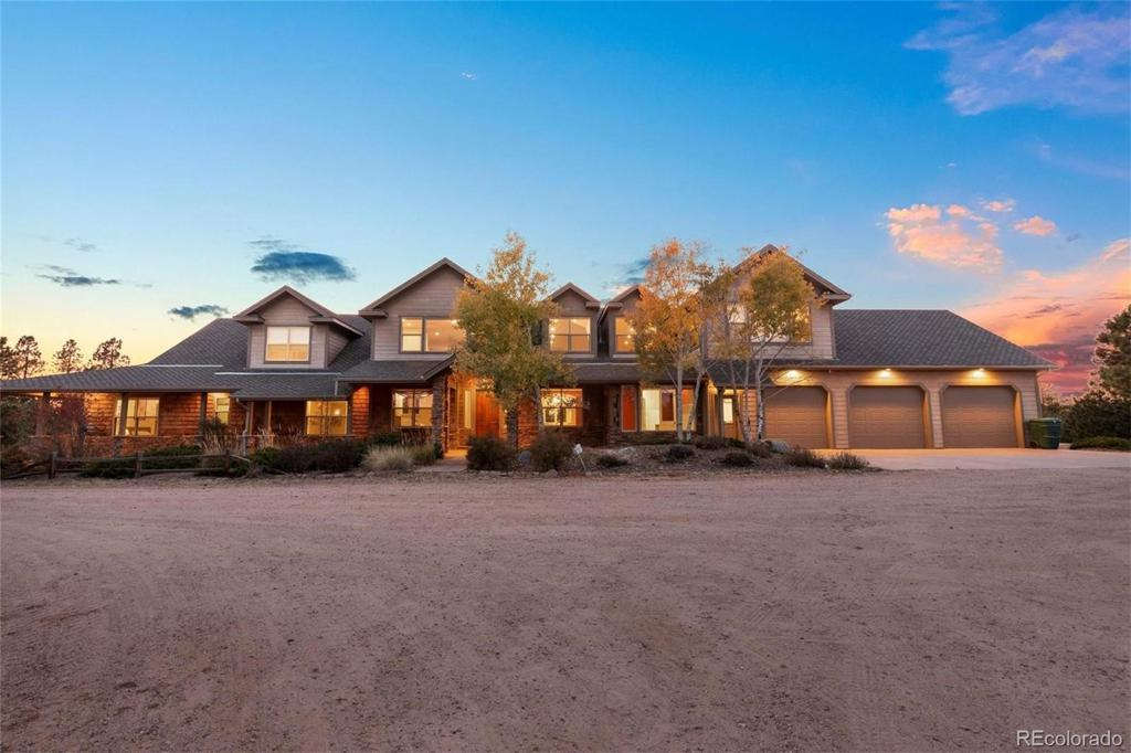 Photo of home for sale at 11555 Green Acres Lane, Colorado Springs CO