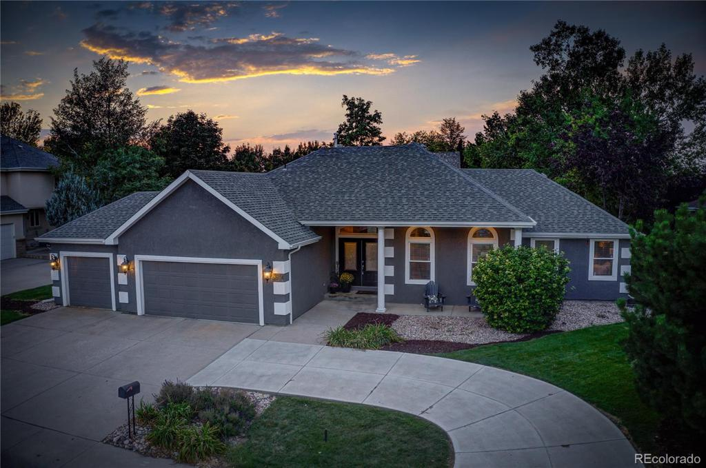 Photo of home for sale at 5624 Taylor Lane, Fort Collins CO