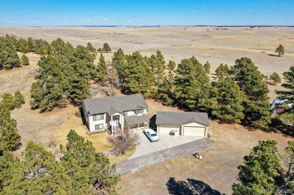 Photo of home for sale at 27438 Plainview Drive, Kiowa CO